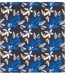 pañuelo de bolsillo con un diseño de flores para hombre 04140