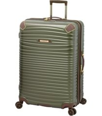 "london fog oxford ii 29"" hardside spinner suitcase, created for macy's"