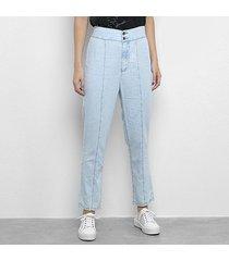 calça jeans my favorite thing (s) jogging high feminina