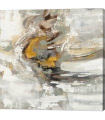 "metaverse amber ring by silvia vassileva canvas art, 27.5"" x 28"""