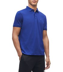 calvin klein men's liquid touch polo shirt