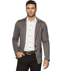 blazer alec gris oscuro  para hombre croydon