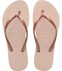 sandalias chanclas para mujer rosa flatform