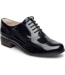 hamble oak snörade skor låga svart clarks