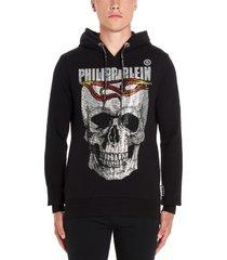 philipp plein flame hoodie