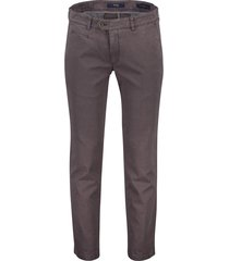 brax everest pantalon taupe flatfront stretch