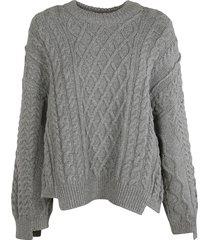stella mccartney oversized woven sweater