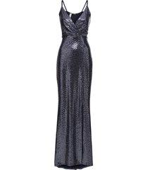 abito di paillettes (blu) - bodyflirt boutique