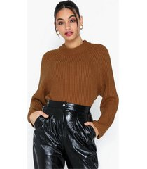 topshop knitted popper side jumper stickade tröjor