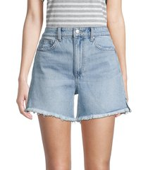 joe's jeans women's vintage easy denim shorts - downey - size 24 (0)