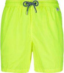 mc2 saint barth pantone swim shorts - yellow