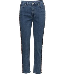 2nd five cropped tape skinny jeans blå 2ndday