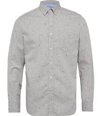 standard-fit luxe poplin shirt skjorta business grå banana republic