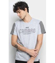 camiseta camaro 455hp masculina