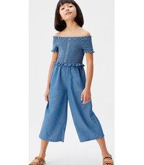 medium denim jumpsuit