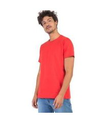 camiseta taco básica fit gola olímpica masculina