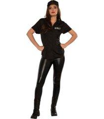 buyseasons women's swat shirt adult costume