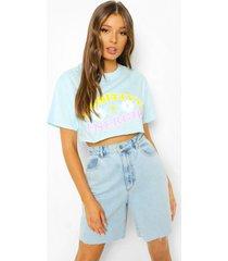 kort positive energies t-shirt, pale blue