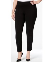 anne klein plus size skinny ankle pants