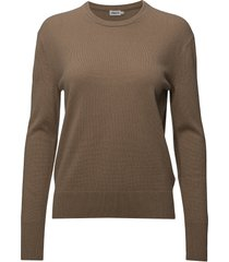 cashmere r-neck sweater gebreide trui bruin filippa k