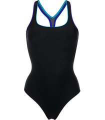 lygia & nanny scoop neck swimsuit - black