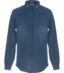 kent & curwen denim shirts