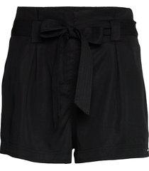 desert paper bag short shorts flowy shorts/casual shorts svart superdry