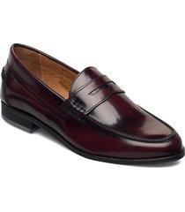 lady loafer loafers låga skor röd morris lady