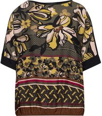 shirt short 1/2 sleeve blouses short-sleeved svart betty barclay
