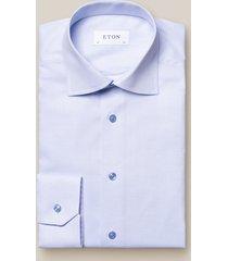 eton heren overhemd twill knopen cutaway contemporary fit