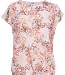 t-shirt short-sleeve t-shirts & tops short-sleeved rosa gerry weber