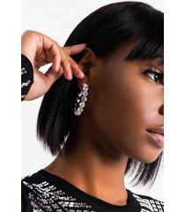akira big rocks hoop earring