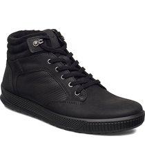 byway tred höga sneakers svart ecco