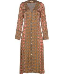 georgine dress knälång klänning multi/mönstrad odd molly