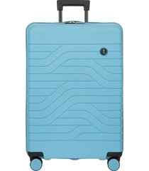 """bric's by ulisse 28"""" expandable spinner suitcase - dove grey"""