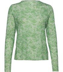 paradise blizella blouse lange mouwen groen mads nørgaard