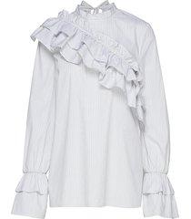 moya blouse lange mouwen wit baum und pferdgarten