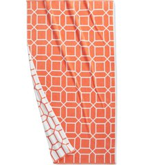 """hotel collection resort geo print cotton 40"""" x 70"""" beach towel, created for macy's bedding"""
