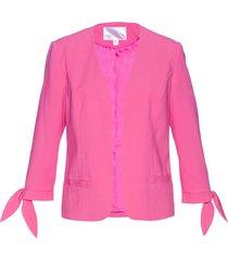 blazer con manica a 3/4 (fucsia) - bpc selection