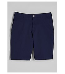 traveler collection tailored fit flat front twill shorts - big & tall by jos. a. bank
