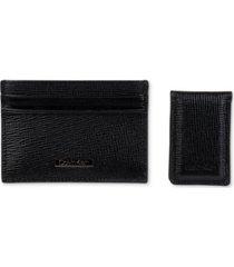 calvin klein men's rfid card case & money clip
