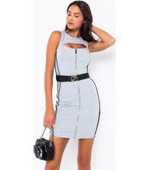 akira sometimes bouji sleeveless bodycon mini dress