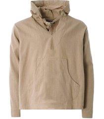 monitaly baja shirt 230g linen | khaki | m29500-khk