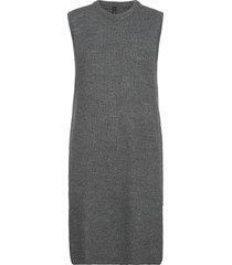 yaszal long waistcoat d2d vests knitted vests grå yas
