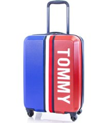 "tommy hilfiger pep rally 21"" carry-on luggage"