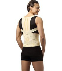 deluxe posture corrector, lumbar support belt, round shoulder and scoliosis b...