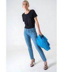 jeansy pakaru ligie