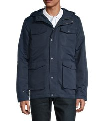 original penguin men's outfield utility jacket - dark sapphire - size l
