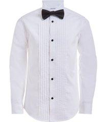 calvin klein big boys tuxedo shirt and bow tie box set