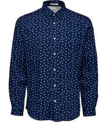 skjorta slhslimnolan-new shirt ls mix w